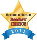 Reporter Herald Readers Choice Awards 2013