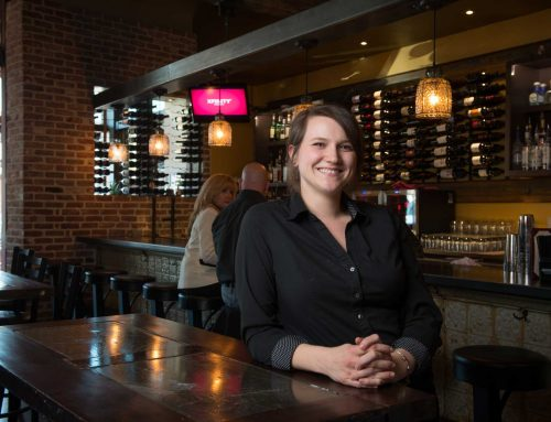 Meet Your Neighbors at Next Door Food and Drink! Bartender Sydney Nelson