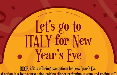New Years Eve 2015 at Door 222