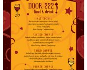 Door 222 2017 New Year's Eve Flyer