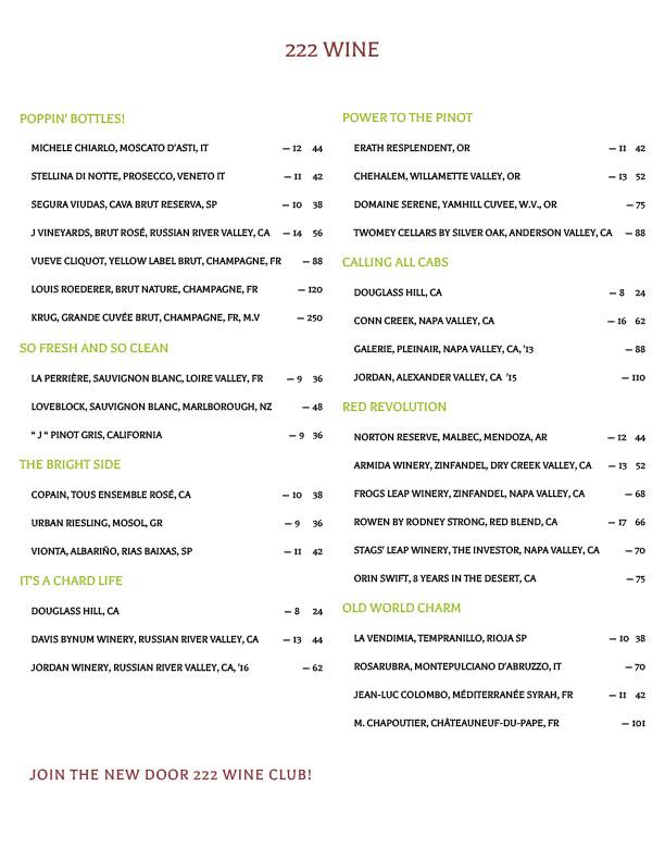 2020 09 Wine List